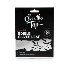 Silver Leaf - Edible - 5 Pack