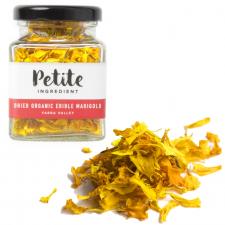 Dried Organic Edible Marigold Yellow