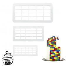 Cake Mad - Cutter - Brick Set 3