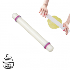 """Cake Mad - Rolling Pin - Acrylic - 23cm (10"""")"""