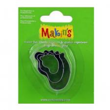 Cutter - Makins - Feet - Set Of 3
