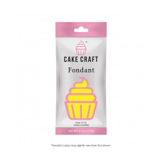 Fondant - Cakecraft - 250g Sunshine Yellow