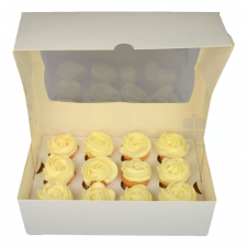 Cup Cake Box - 12 Mini Cupcakes - With Insert