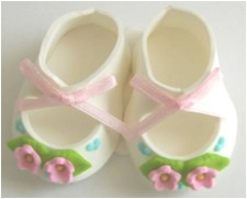 Flower - Sugar Booties - Pink