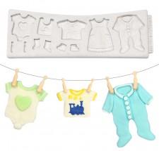 Katy Sue Mould - Baby Clothes Line