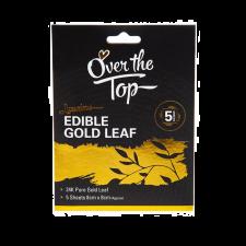 Gold Leaf - Edible - 5 Pack