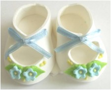 Flower - Sugar Booties - Blue
