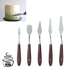 Cake Mad - Palette Knife Set 5