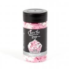 Quins - OTT - Love Hearts - Pink & White 65G