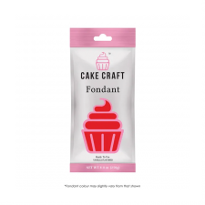 Fondant - Cakecraft - 250g Ruby Red