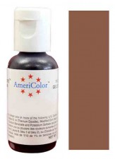 Paste - Americolour Warm Brown Gel (21 Grams)