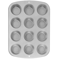 Tin - Muffin Pan - Heavy Duty - 12 Cup Mini