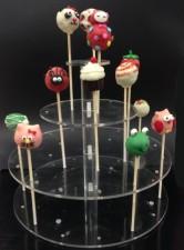 Cakepop Stand - 3 Tier Round